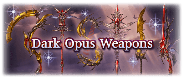 Dark Opus Weapons