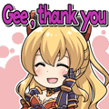 Vira Gee, thank you