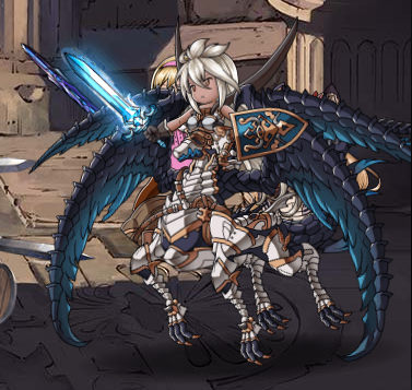 Keeper of Balance, Envoy of the Blue (Zooey) Full Battle Sprite.png