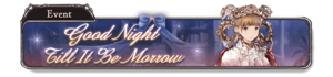 Good Night Till It Be Morrow