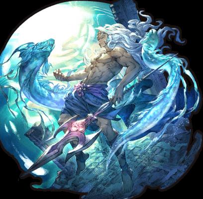 Poseidon The Tide Father Granblue Fantasy Wiki